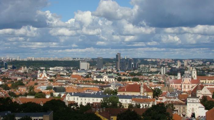 Вид на Старый город и Новый центр