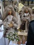 Куклы из льна.
