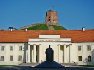 Башня Гедиминаса.Новый арсенал. Памятник королю Миндаугасу.