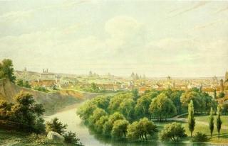 Панорама с горы Бекеша (картина Ивана Трутнева)
